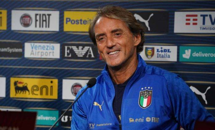 Italia, Mancini in conferenza stampa