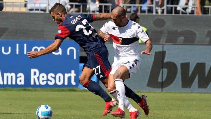 Cagliari-Genoa in campo