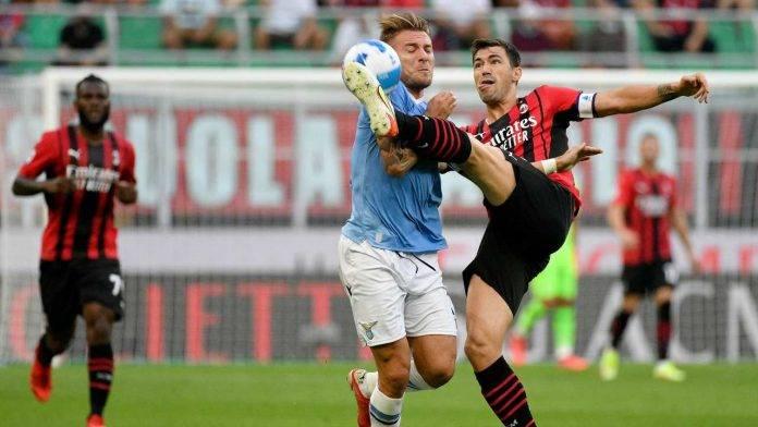 Milan-Lazio in campo