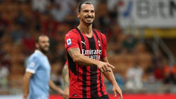 Ibrahimovic in campo