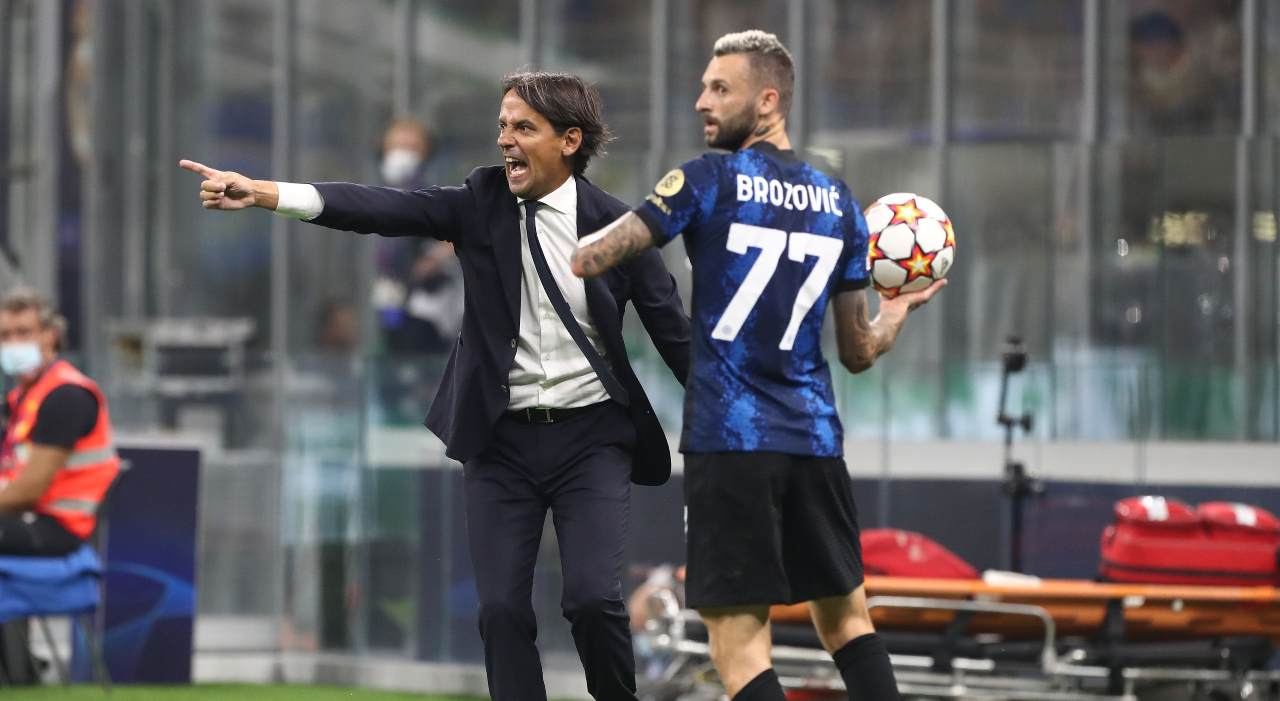 Inzaghi Brozovic Inter