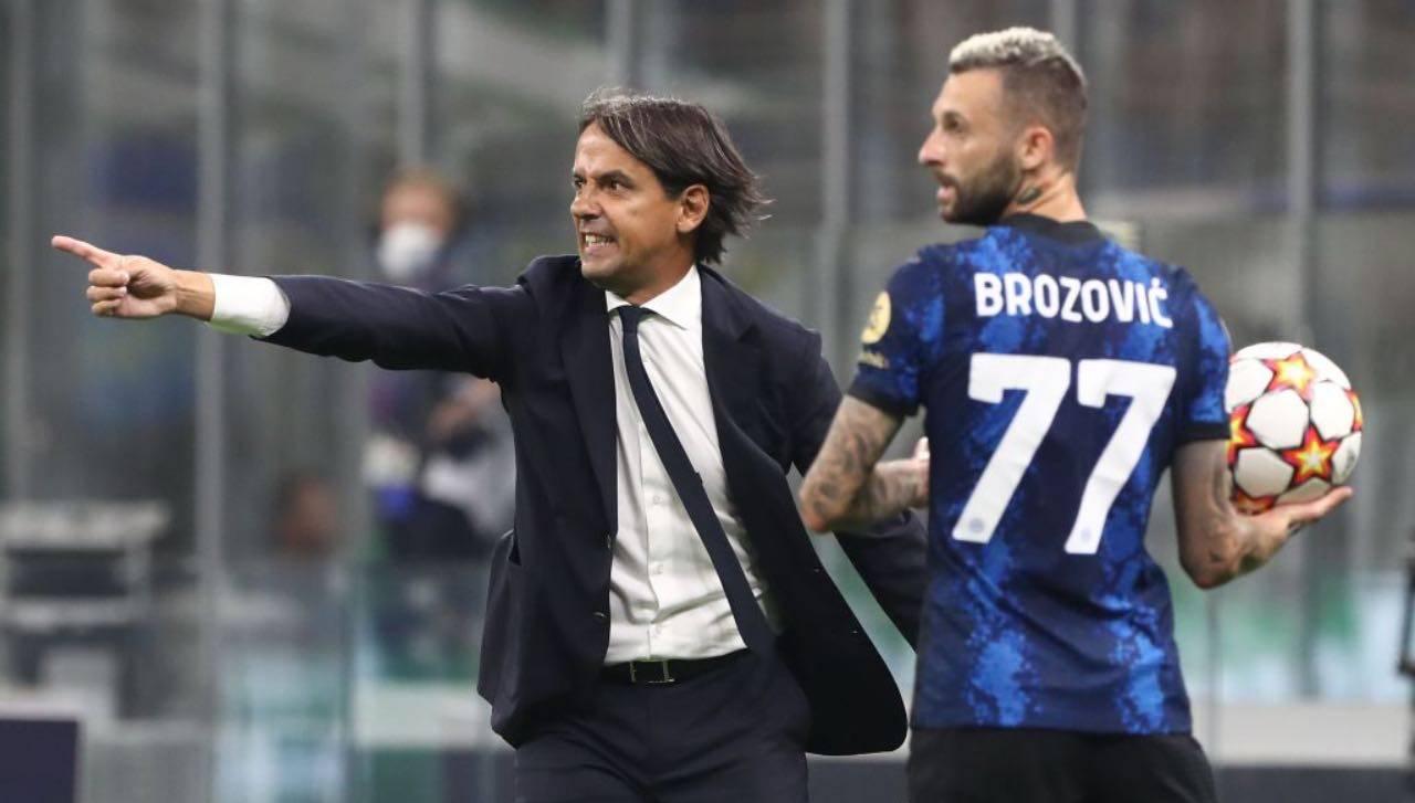 Inzaghi con Brozovic