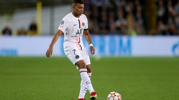 Mbappé in campo