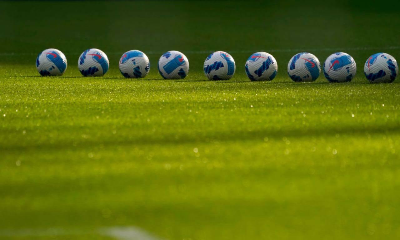 I palloni di Serie A durante Inter-Bologna