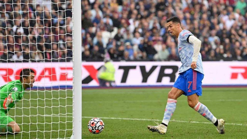 Ronaldo segna Manchester United