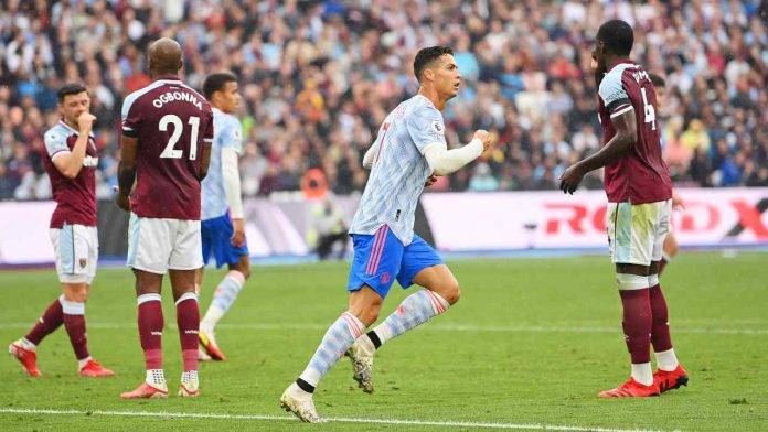 CR7 corre Manchester United