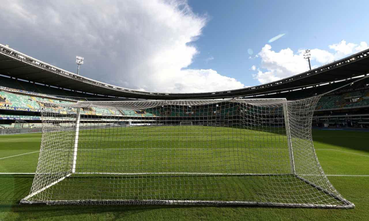 Il campo di Hellas Verona - Roma