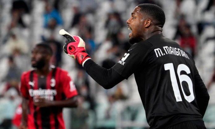 Maignan in Juventus-Milan