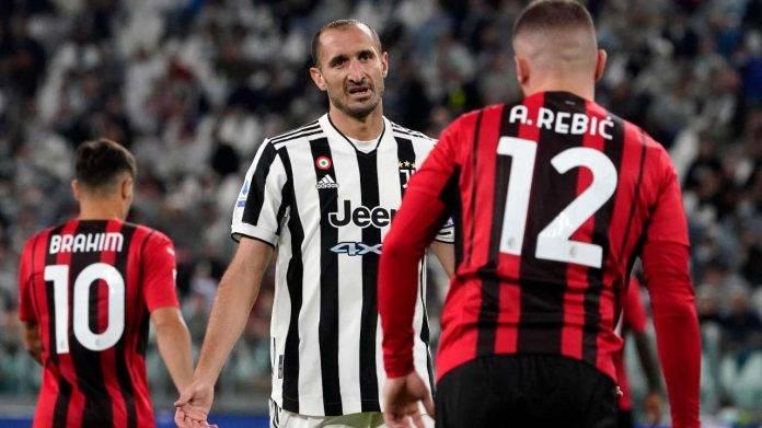Juve Milan Chiellini Rebic