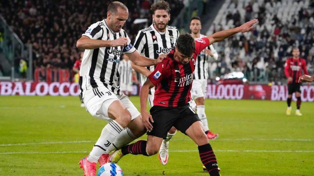 Diaz in campo contro la Juventus