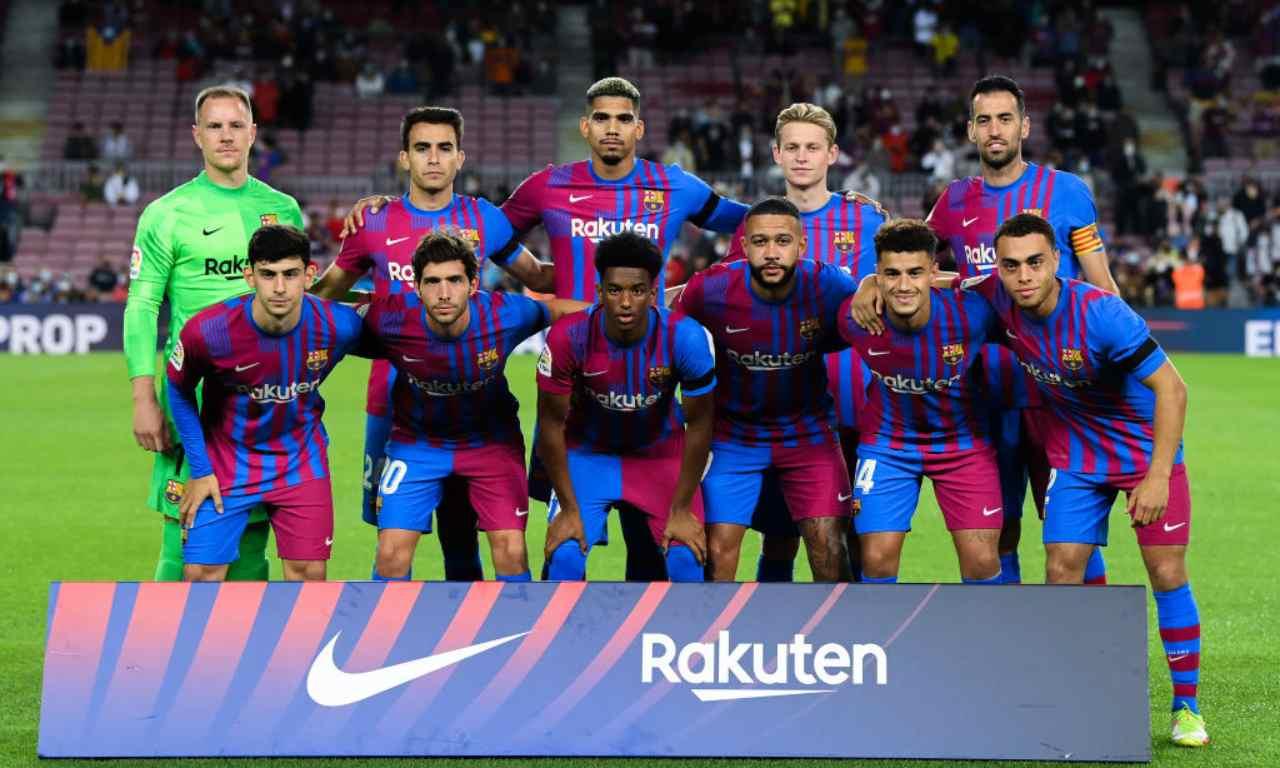 Barcellona in posa