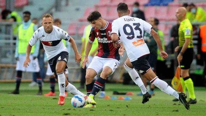 Bologna-Genoa in campo