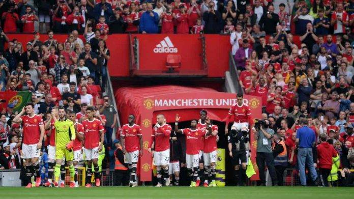 Manchester United in campo