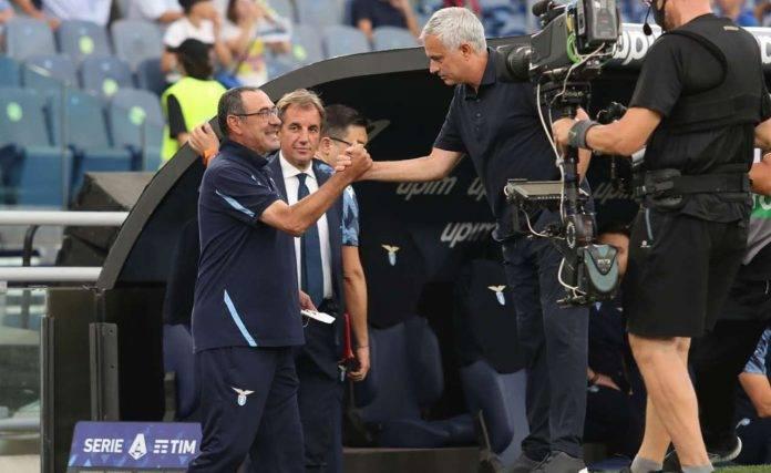 Mourinho saluta Sarri