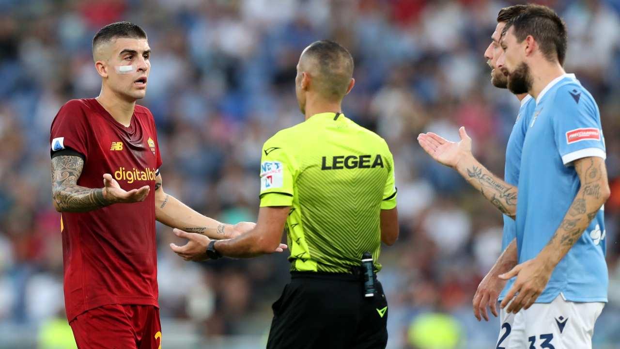 Lazio-Roma in campo