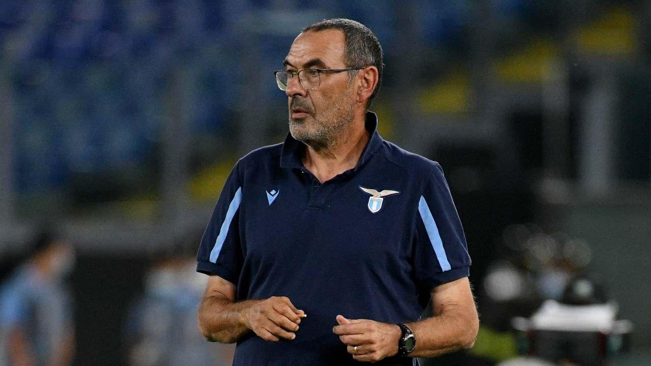 Lazio, Maurizio Sarri a bordocampo