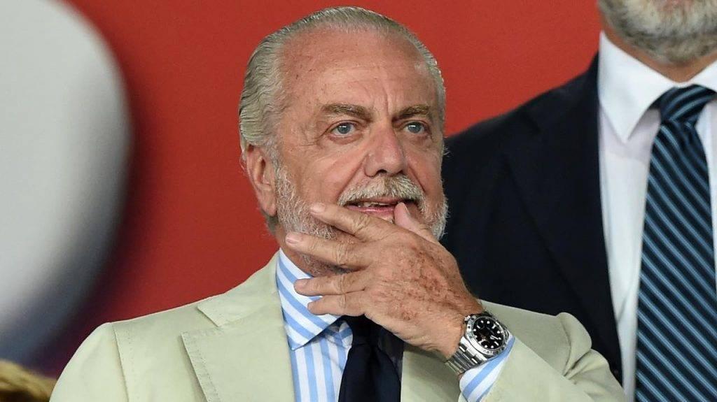 Il presidente del Napoli De Laurentiis riflette