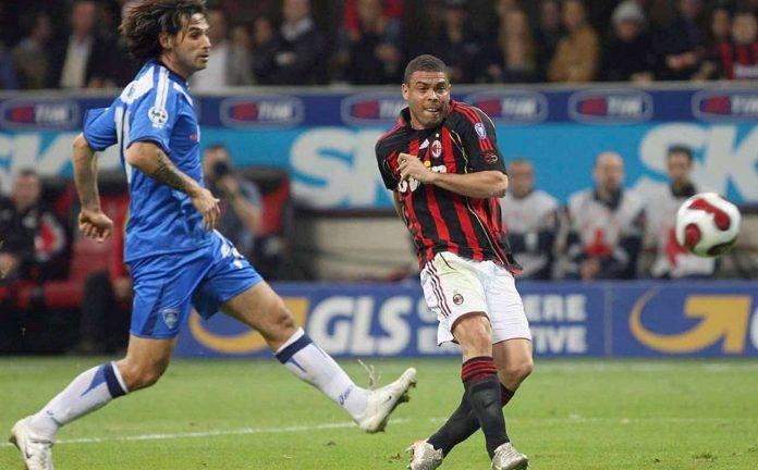 Lele Adani in campo da calciatore