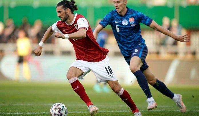 Grillitsch con la Nazionale