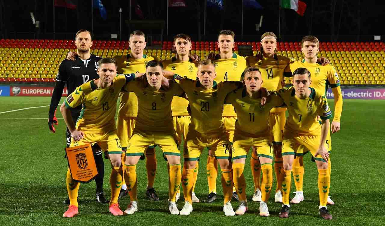 Lituania squadra di calcio