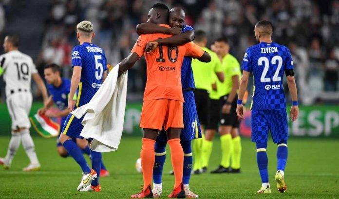 Lukaku abbraccia Mendy