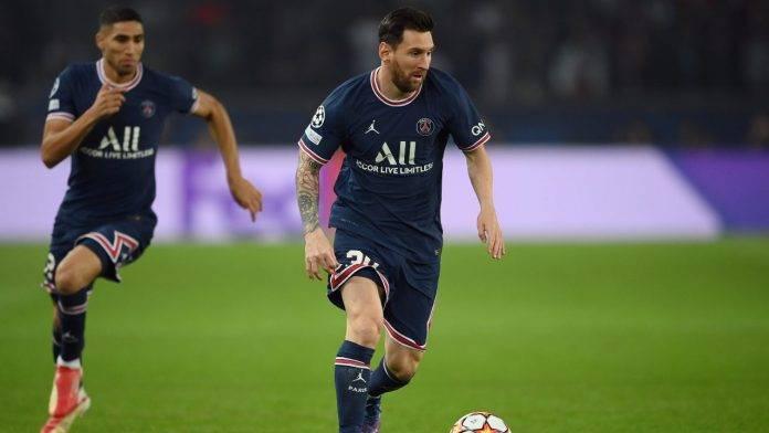 Messi palla al piede