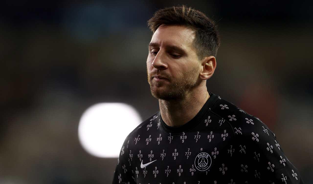 Messi in allenamento