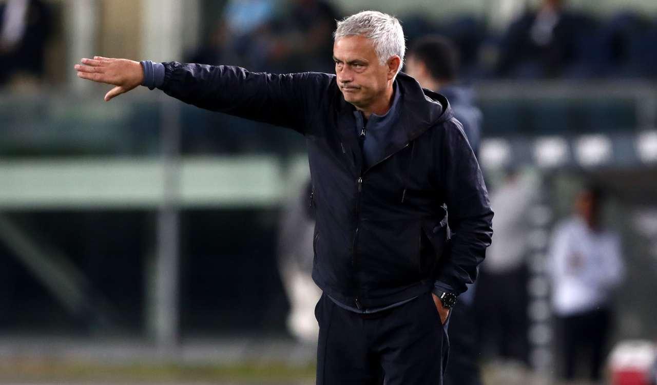 Mourinho che allena