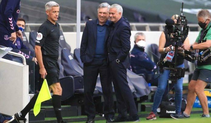 Mourinho e Ancelotti