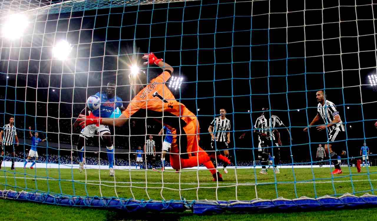 gol Koulibaly Napoli Juventus