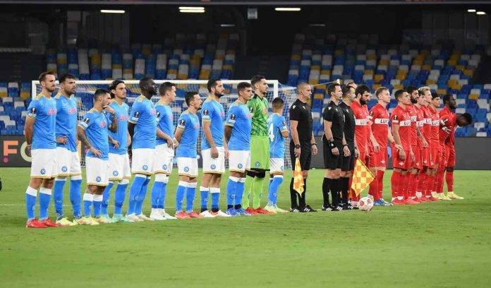 Napoli e Spartak Mosca in campo