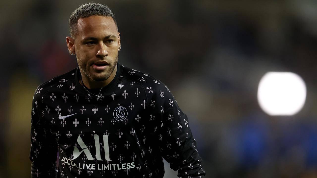 Neymar risentito