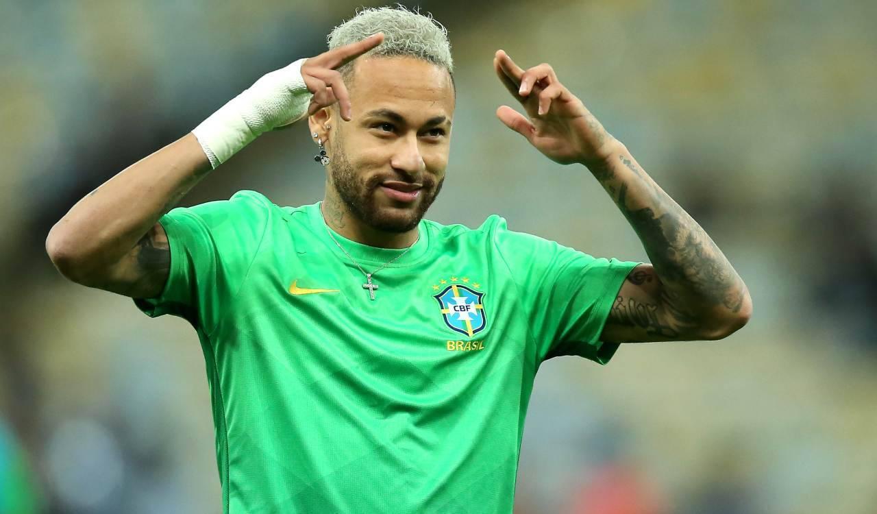 Neymar col Brasile