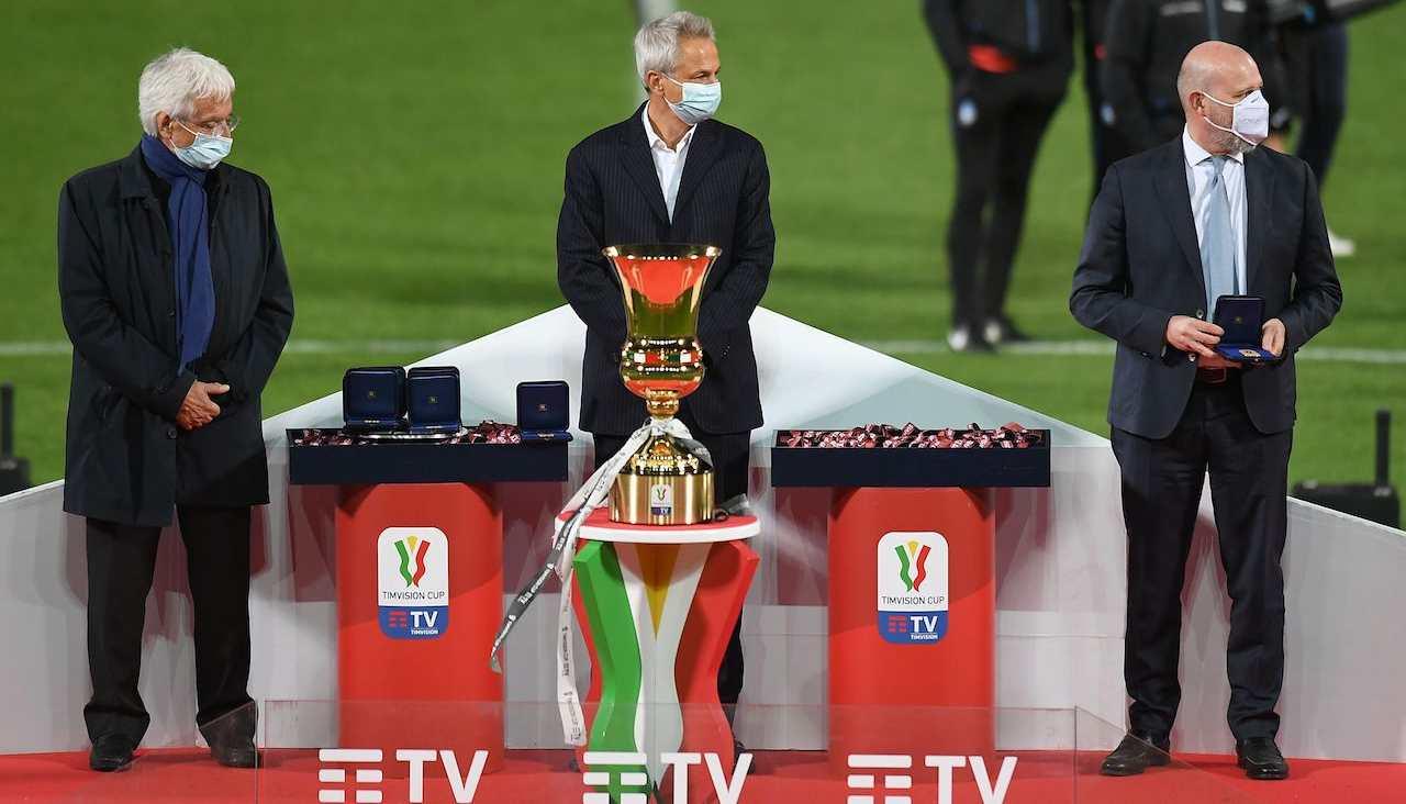 Premiazione Coppa Italia