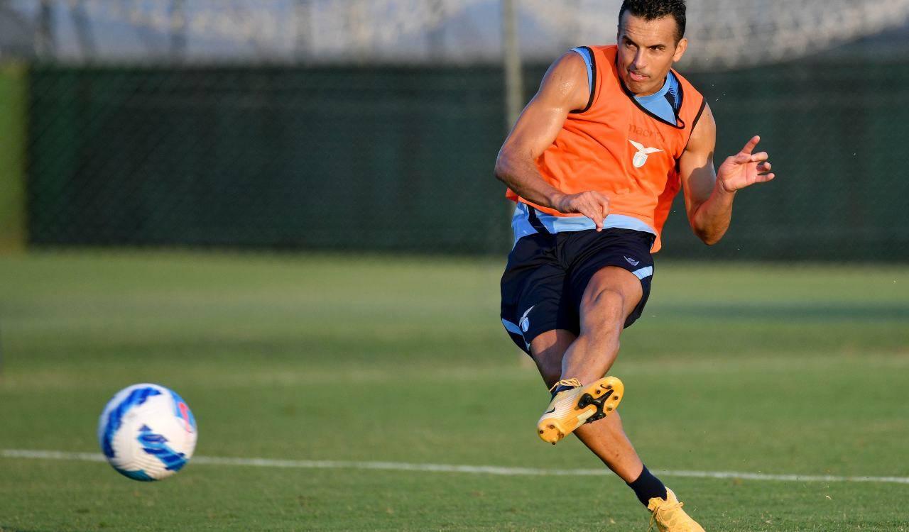 Pedro in allenamento