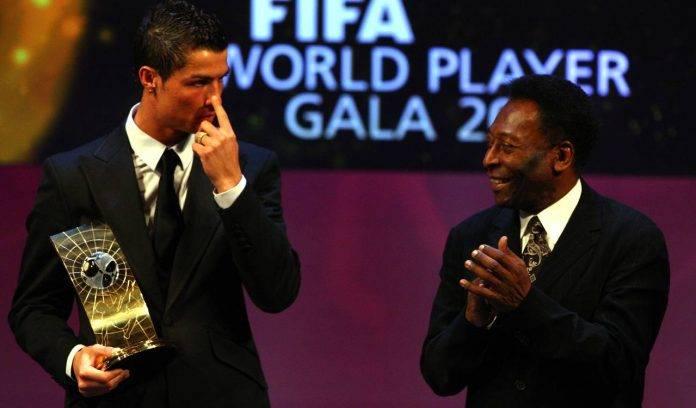 Pelé e Ronaldo