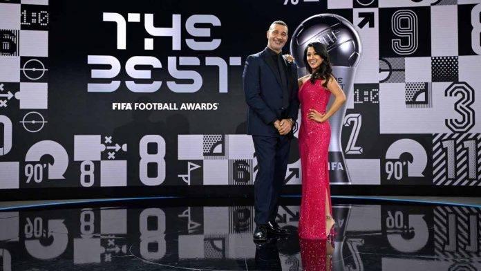 Gullit al The Best FIFA Football Awards