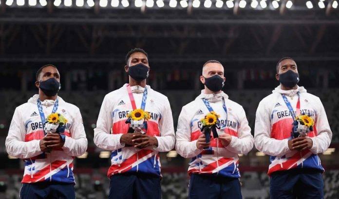 4x100 Gran Bretagna