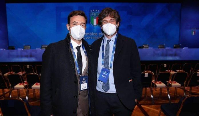 Tiago Pinto e Demetrio Albertini