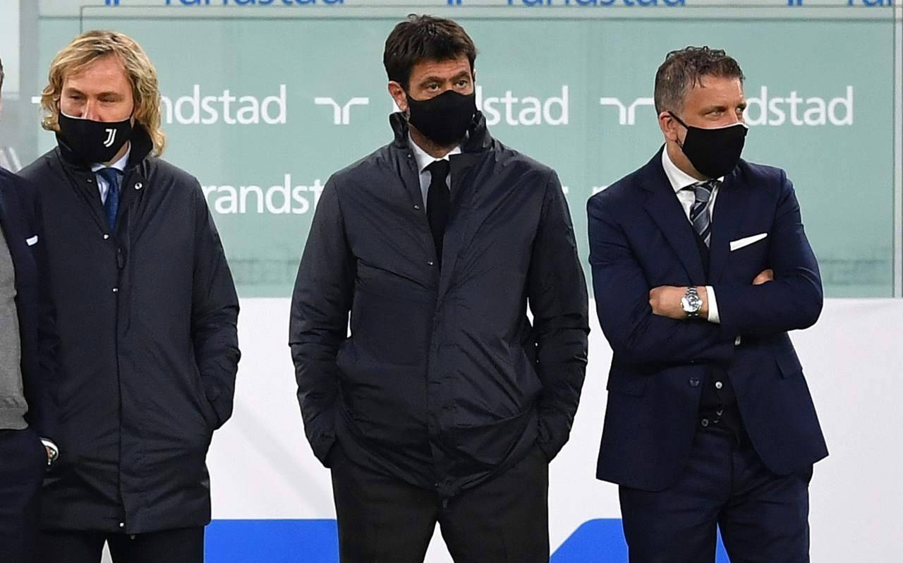 Juventus, Nedved, Agnelli e Cherubini