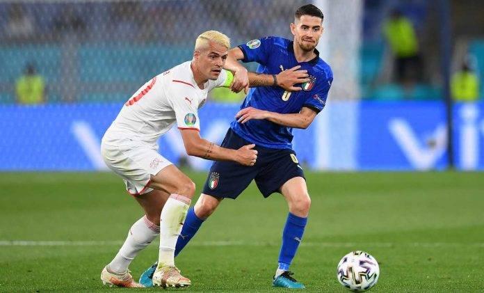 Svizzera-Italia, Xhaka e Jorginho a contrasto