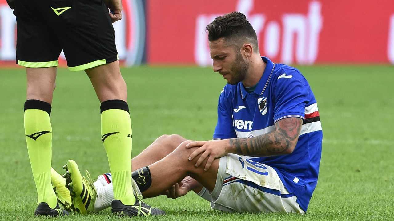 Bertolacci accusa un problema fisico ai tempi della Sampdoria