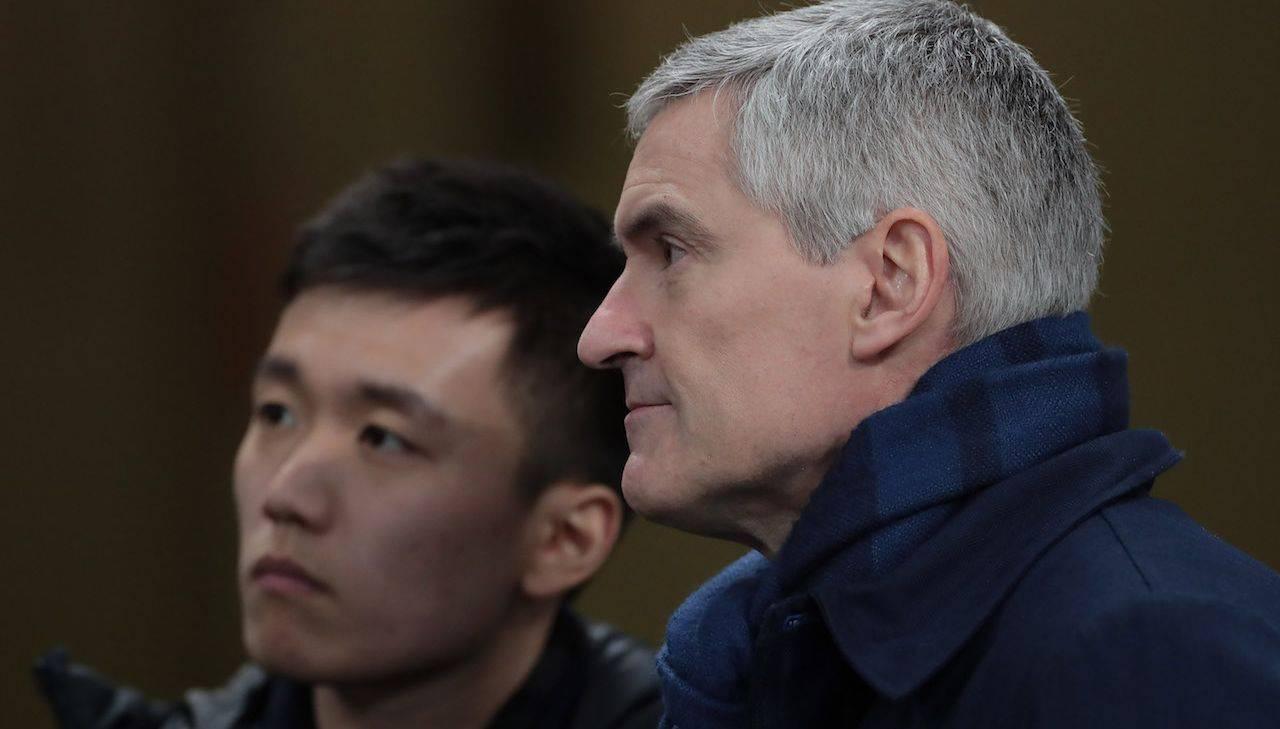 Antonello parla con Zhang