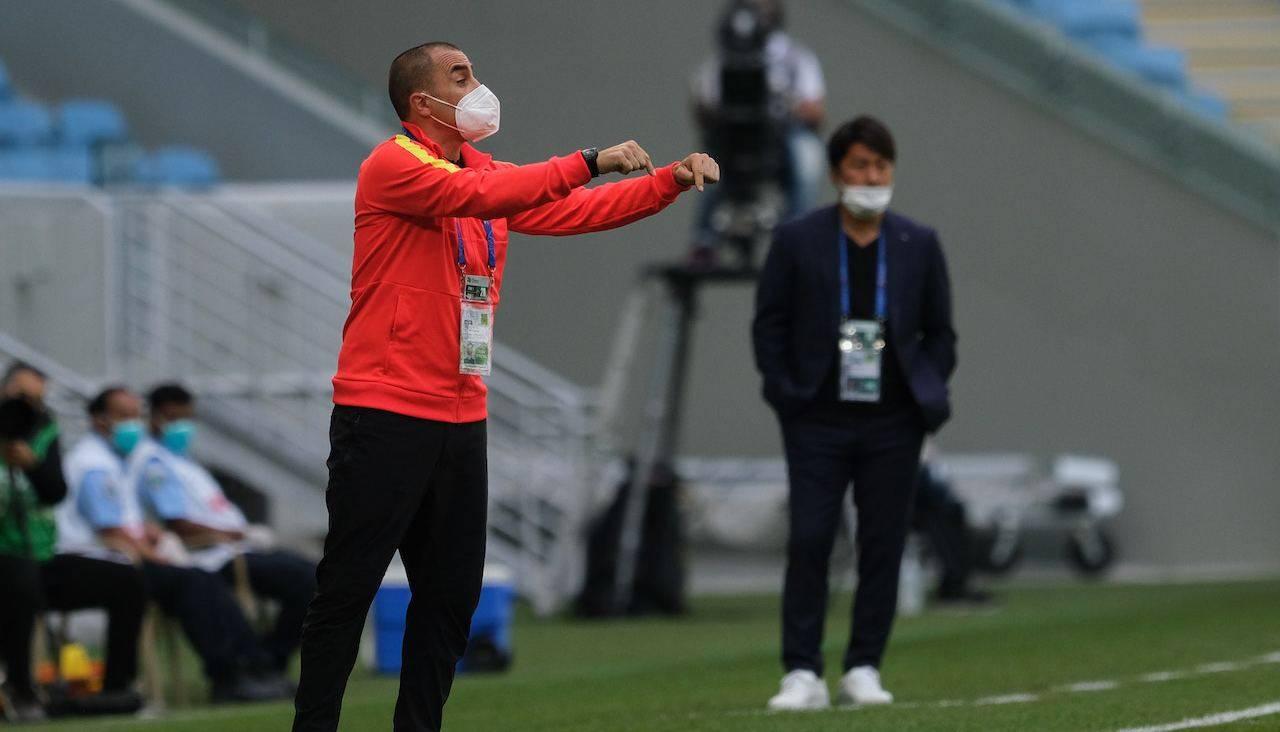 Fabio Cannavaro da indicazioni