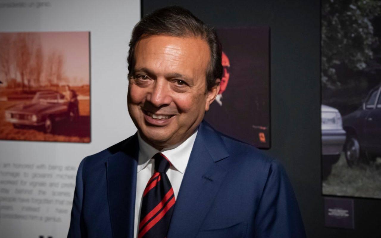 Piero Chiambretti durante una premiazione