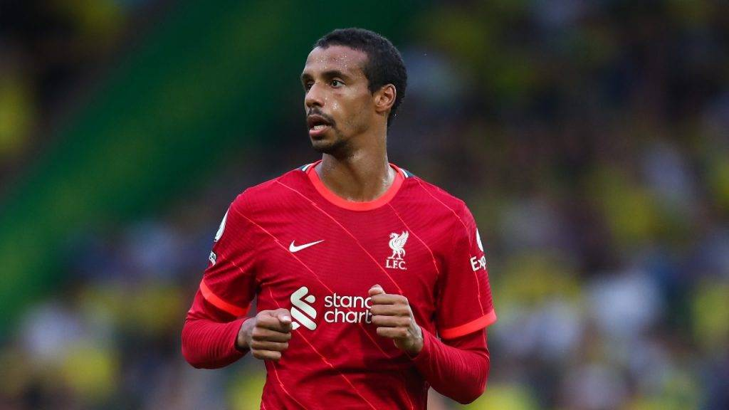 Matip corre Liverpool