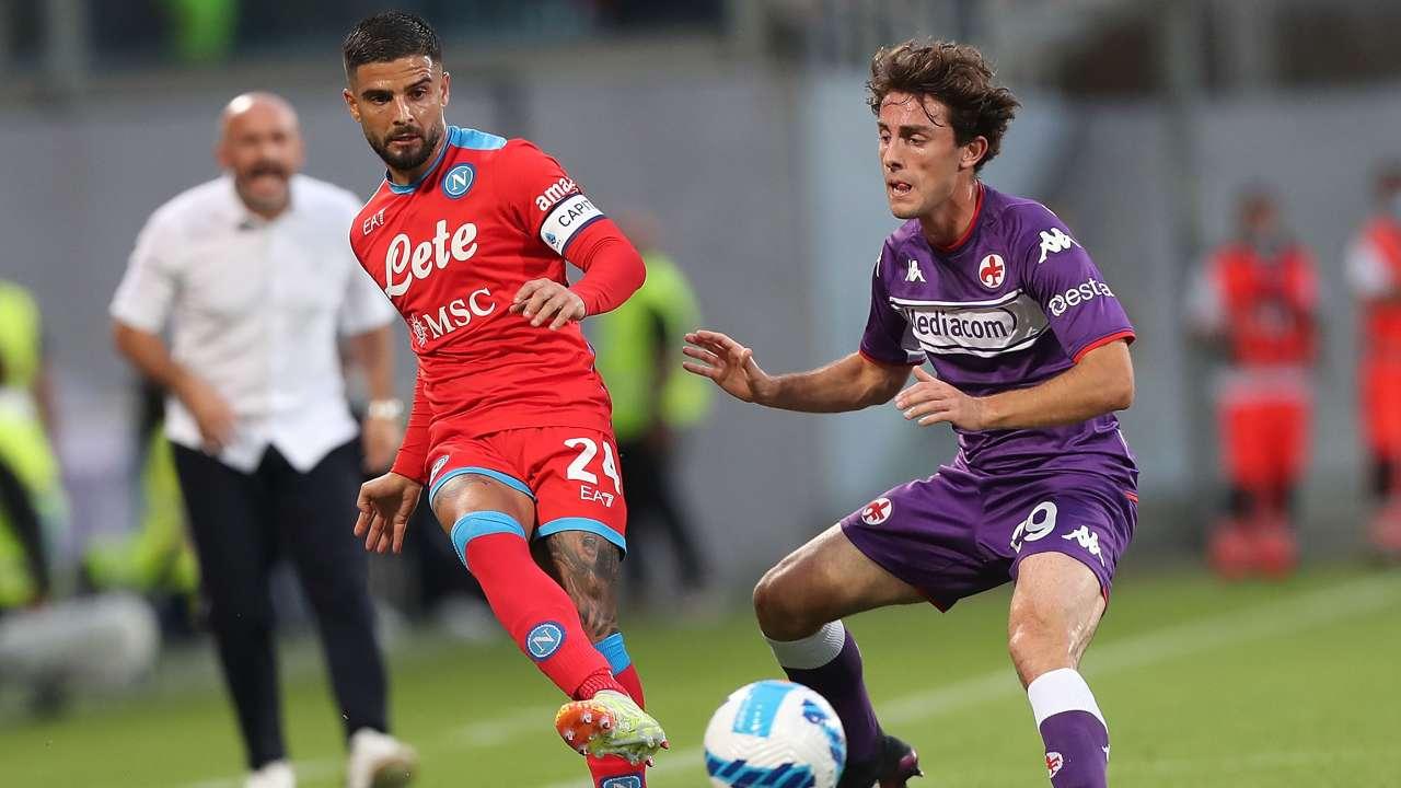 Fiorentina-Napoli in campo