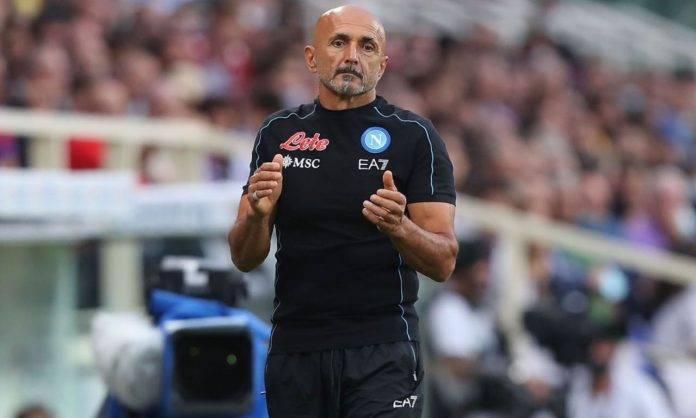 Luciano Spalletti in Fiorentina-Napoli
