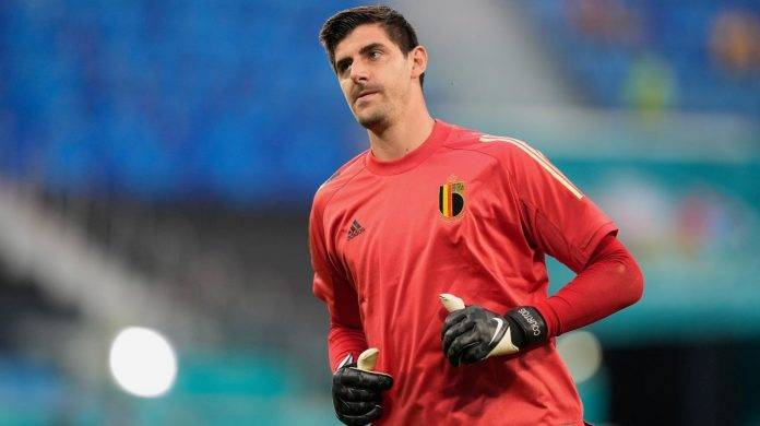 Courtois in campo