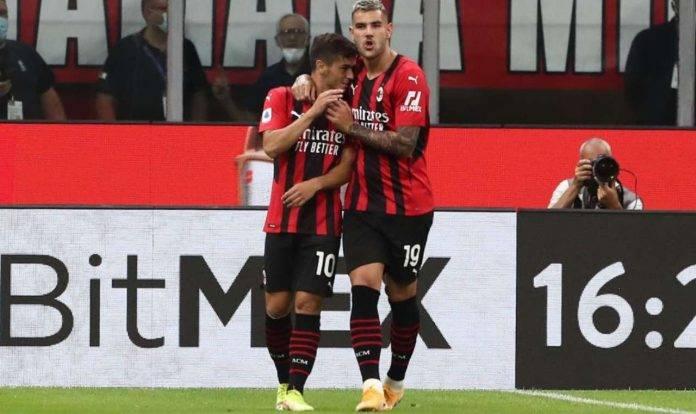 Milan, Brahim Diaz e Theo Hernandez